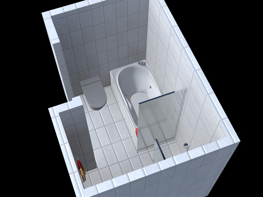 Badkamer ontwerp bovenkarspel by my
